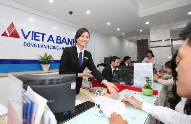 Giao dịch thực hiện tại chi nhánh ngân hàng VietABank